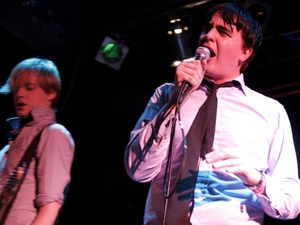 Jasper Future and Eddie Argos of Art Brut in Concert at ULU in 2008