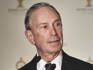 New York City mayor Michael Bloomberg at the 100th anniversary celebrations for Grand Central station ~~ February 1, 2013