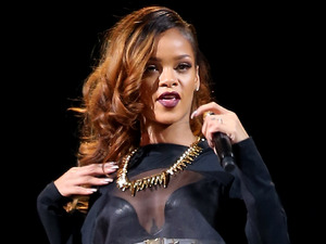 Rihanna Performs at Mandalay Bay Resort and Casino in Las Vegas.