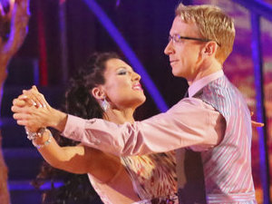 Dancing with the Stars - week 4: Andy Dick and Sharna Burgess