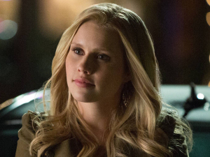Claire Holt as Rebekah in The Vampire Diaries S04E18: 'American Gothic'