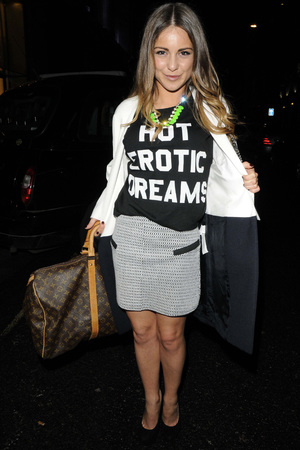 Louise Thompson, Made in Chelsea, slogan-t-shirt, fashion