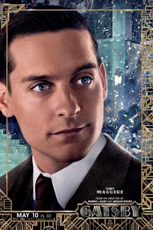 'Great Gatsby' character poster: Nick Carraway (Tobey Maguire)