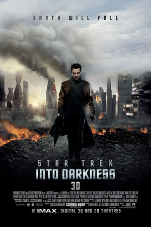 Benedict Cumberbatch Star Trek Into Darkness poster