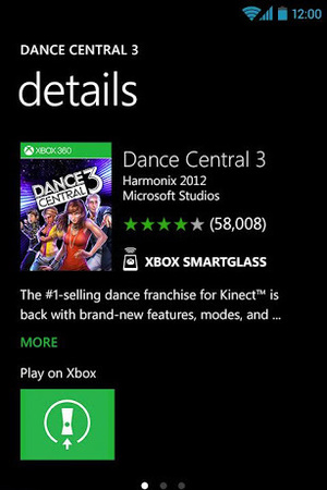 Xbox SmartGlass App for Android.