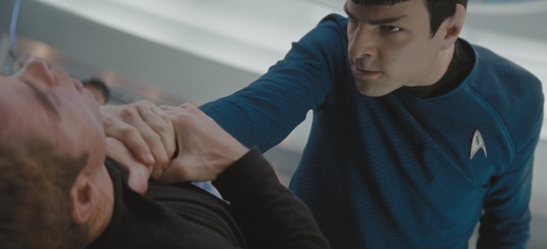 Zachary Quinto as Spock in 'Star Trek'