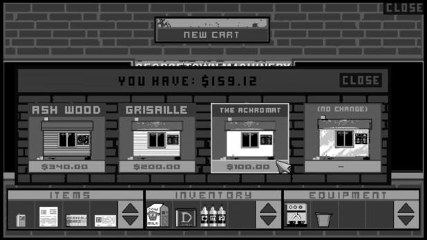 'Cart Life' screenshot