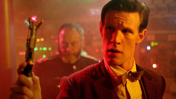 The Doctor (Matt Smith) in Doctor Who S07E03: 'Cold War'