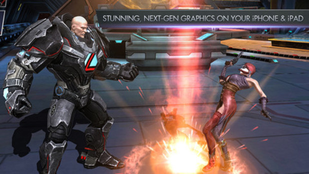 'Injustice: Gods Among Us' mobile screenshot