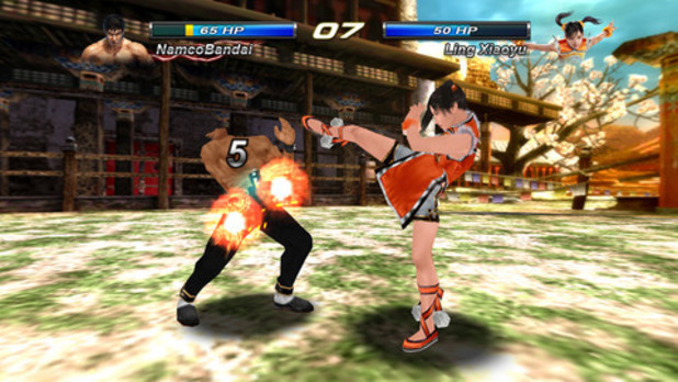 'Tekken Card Tournament' mobile screenshot