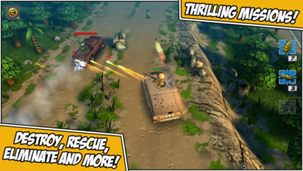 'Tiny Troopers 2: Special Ops' mobile screenshot