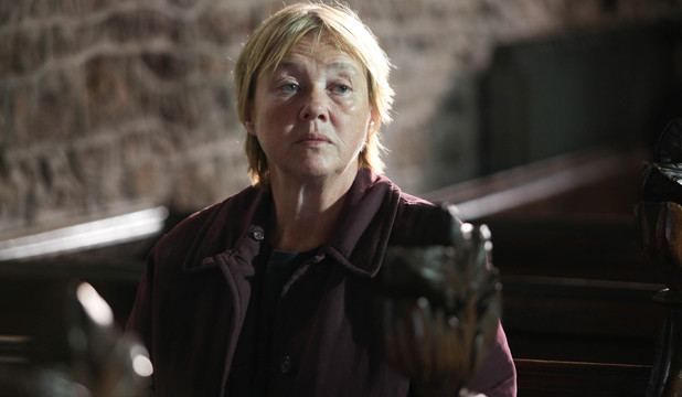 Pauline Quirke as Susan Wright in Broadchurch Episode 6
