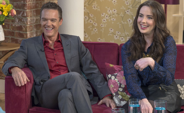 Neighbours stars Stefan Dennis and Ashleigh Brewer on This Morning