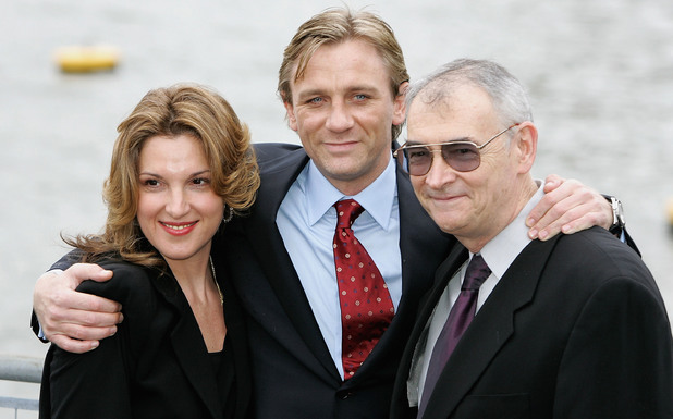 Barbara Broccoli and Michael G Wilson unveil Daniel Craig
