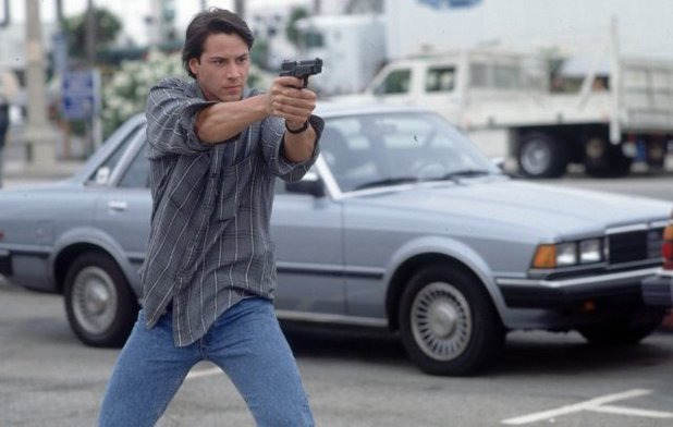 Keanu Reeves in 'Point Break'