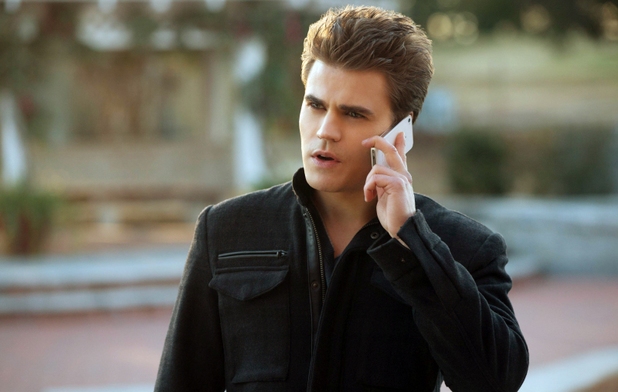 Paul Wesley as Stefan in The Vampire Diaries S04E18: 'American Gothic'