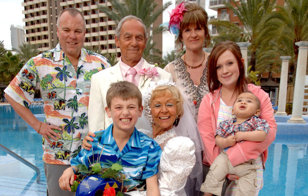 The cast of ITV's 'Benidorm'