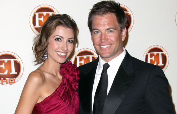 Michael Weatherly with wife Bojana Jankovic