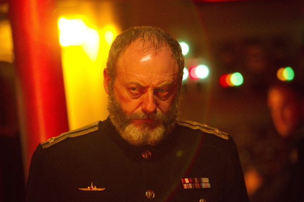 Captain Zhukov (Liam Cunningham) in Doctor Who S07E03: 'Cold War'