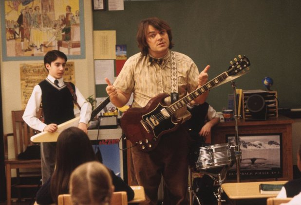 Jack Black in 'School of Rock'