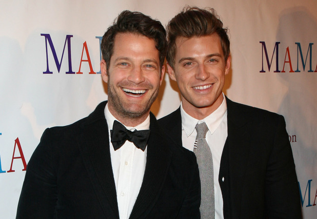 Nate Berkus and Jeremiah Brent at the 30th Anniversary Celebration of 'Mama, I Want to Sing' in March 2013