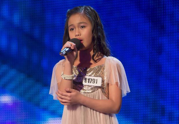Britain's Got Talent 2013 Episode One: Arisxandra Libantino