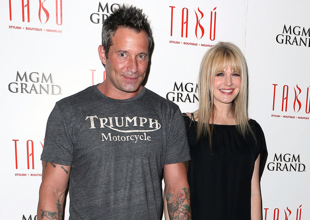 "Kathryn Morris and partner Johnny Messner at the ""She Wants Me"" at TABU Nightclub in Las Vegas"