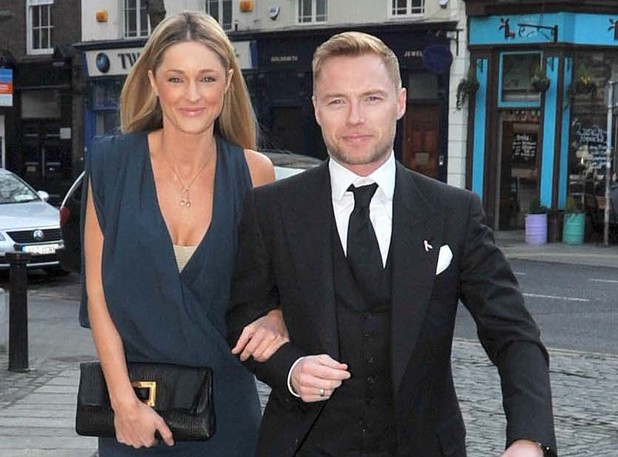 Ronan Keating, Storm Uechtritz, Lord Mayor's Ball, Dublin
