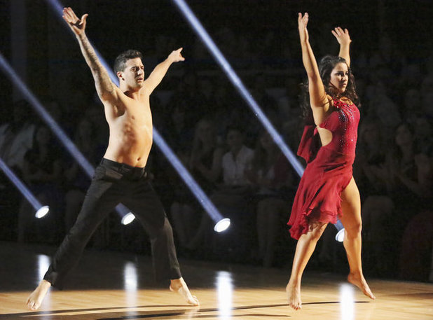 Dancing with the Stars - week 4: Mark Ballas and Alexandra Raisman