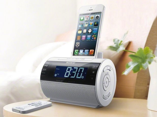 Sony's iPhone speaker dock