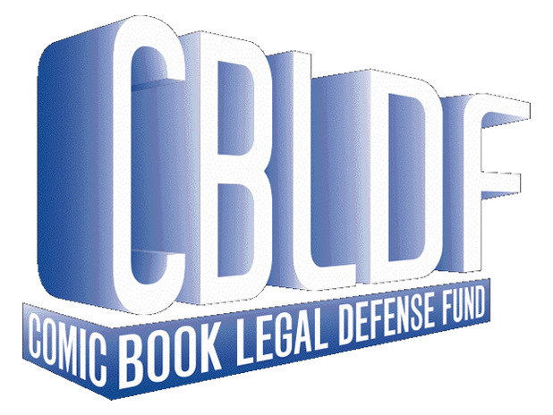 The Comic Book Legal Defense Fund logo