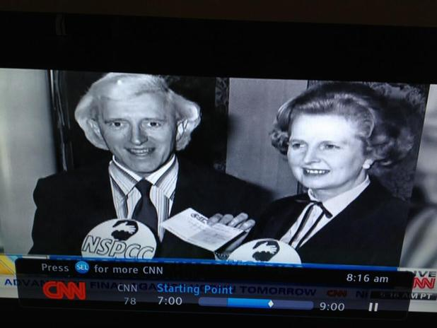 Margaret Thatcher: CNN in Jimmy Savile picture gaffe