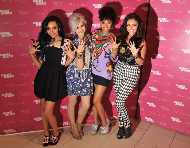 Little Mix, New Look, Westfield, nail collection