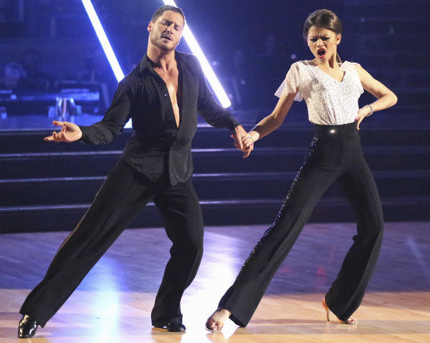 Dancing with the Stars - week 4: Zendaya and Val Chmerkovskiy