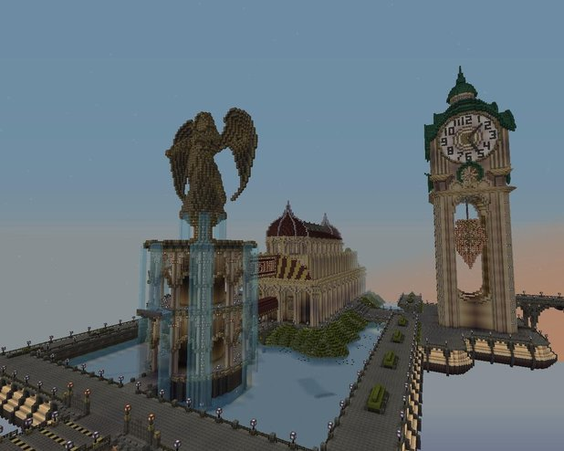 Casino and a Clock Tower