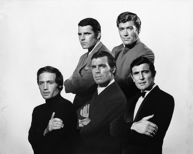 Robert Campbell, George Lazenby, Hans De Vries, Anthony Rogers and John Richardson