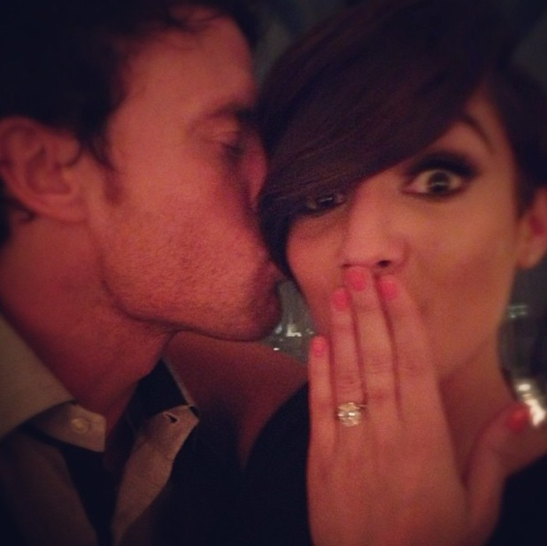 Frankie Sandford is engaged to Wayne Bridge
