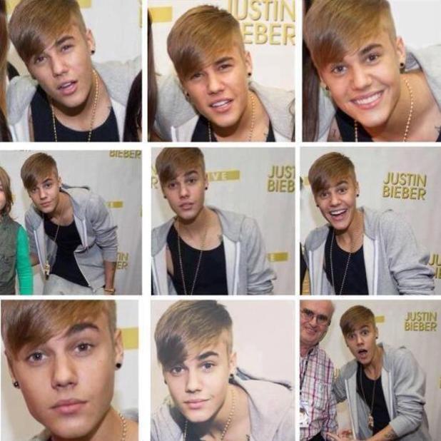 Justin Bieber returns to his floppy fringe