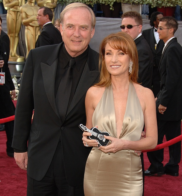 James Keach and Jane Seymour at the 78th Annual Academy Awards