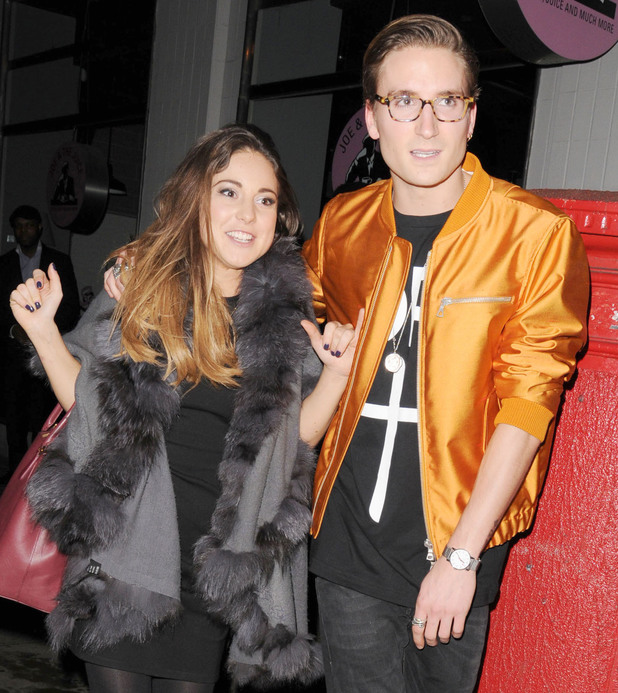Louise Thompson and Oliver Proudlock