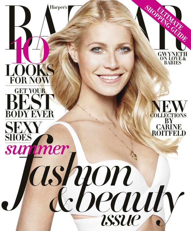 Gwyneth Paltrow Graces Harper's BAZAAR's May Cover