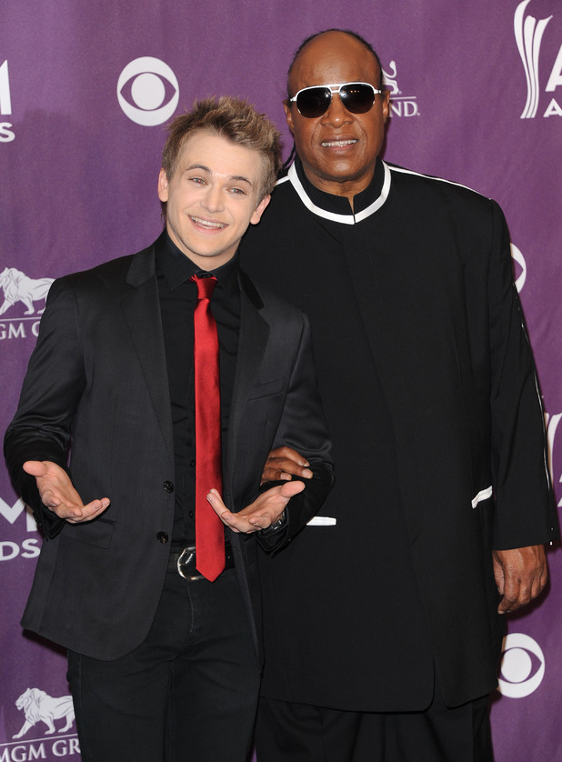 Hunter Hayes, Stevie Wonder, 48th Annual ACM Awards 2013, Las Vegas