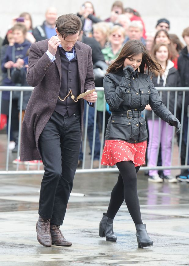 Matt Smith & Jenna-Louise Coleman