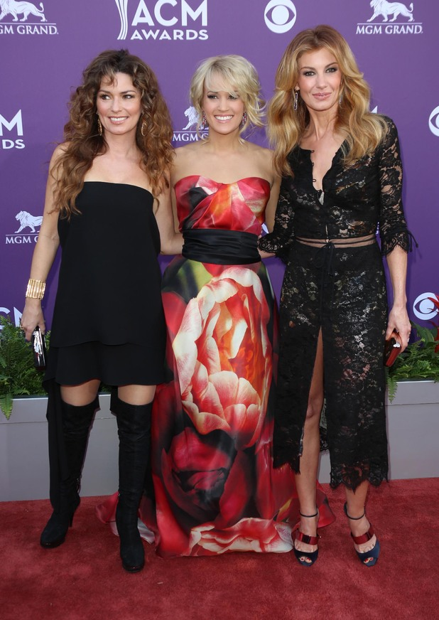 Shania Twain, Faith Hill & Carrie Underwood