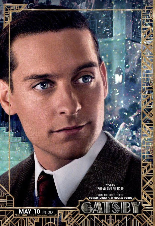 The Great Gatsby Nick Carraway Tobey maguire as nick carraway