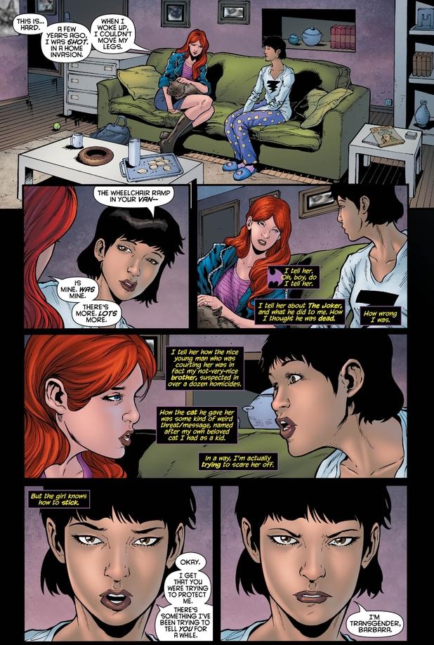 Batgirl #19 transgender