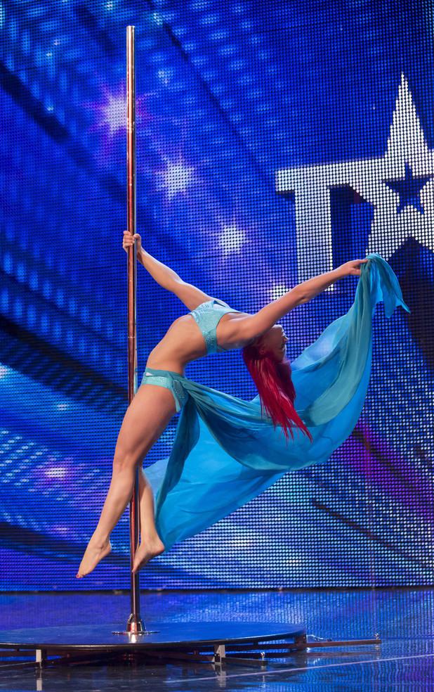 Jess The Pole Dancer