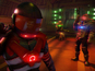 The Far Cry 3: Blood Dragon short sees Bolt Lightning face off against a robot.