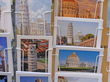 Postcards in a shop.