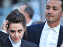 Stewart is seen with man resembling Rupert Sanders, the director she had an affair with.